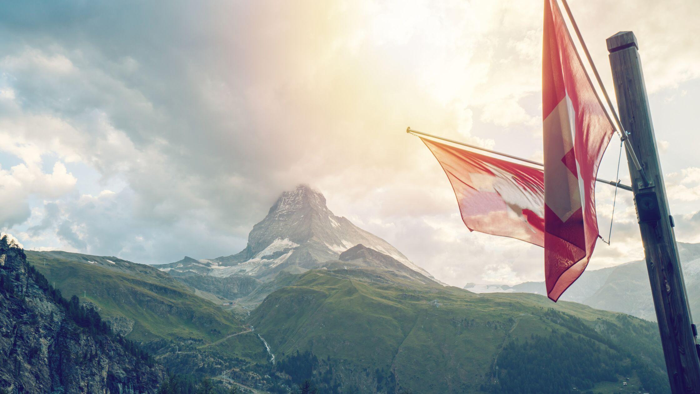 Berge Schweiz