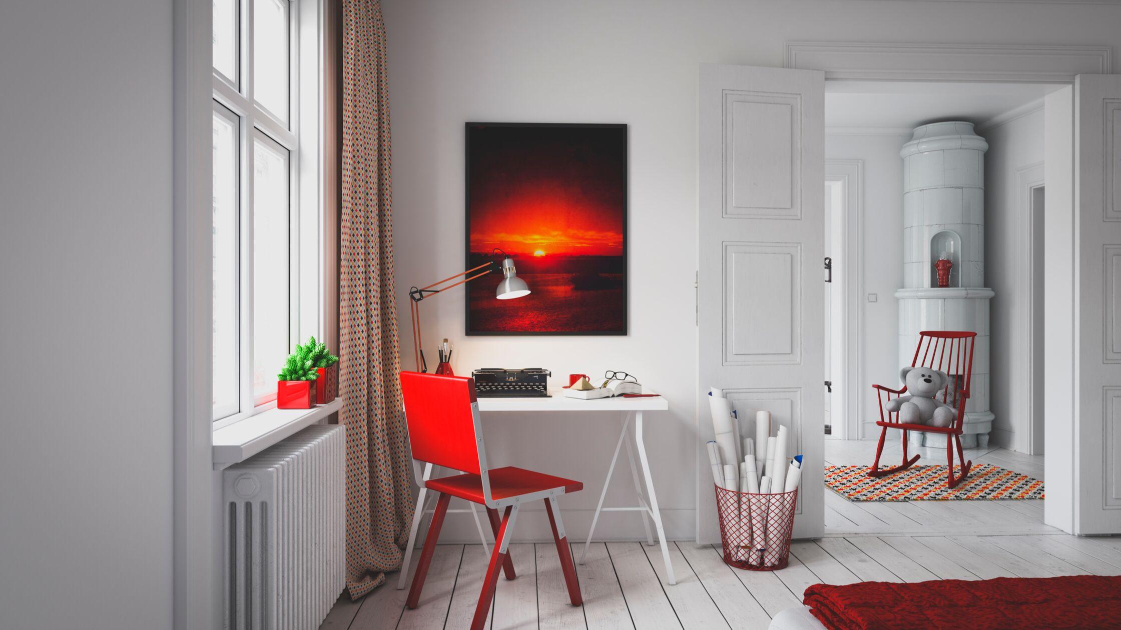 Farbkontraste und moderne Designs inmitten alter Räume. Haben Sie Mut zum Stilbruch!