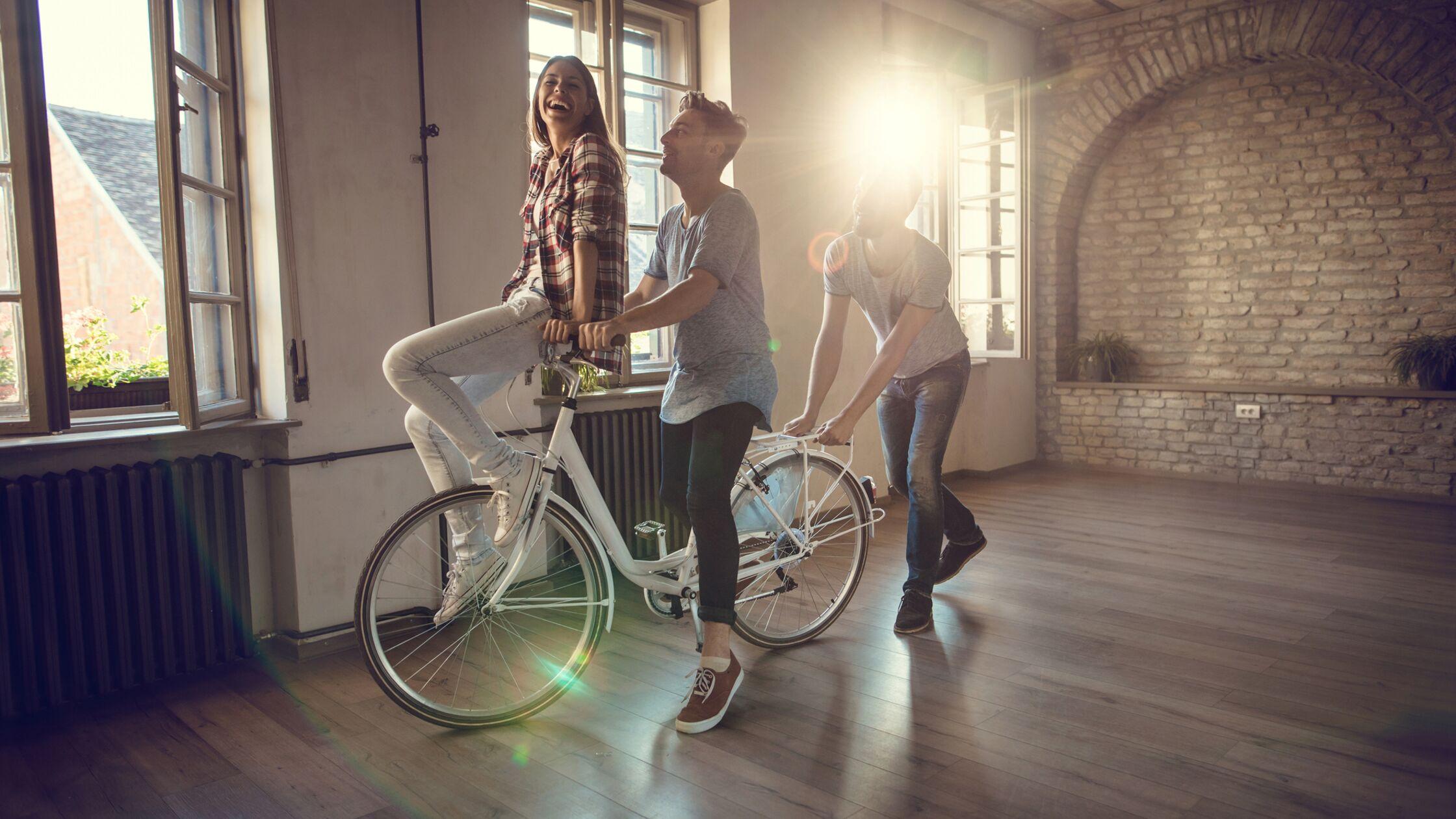 4 Dinge, die Sie in der leeren Wohnung tun können