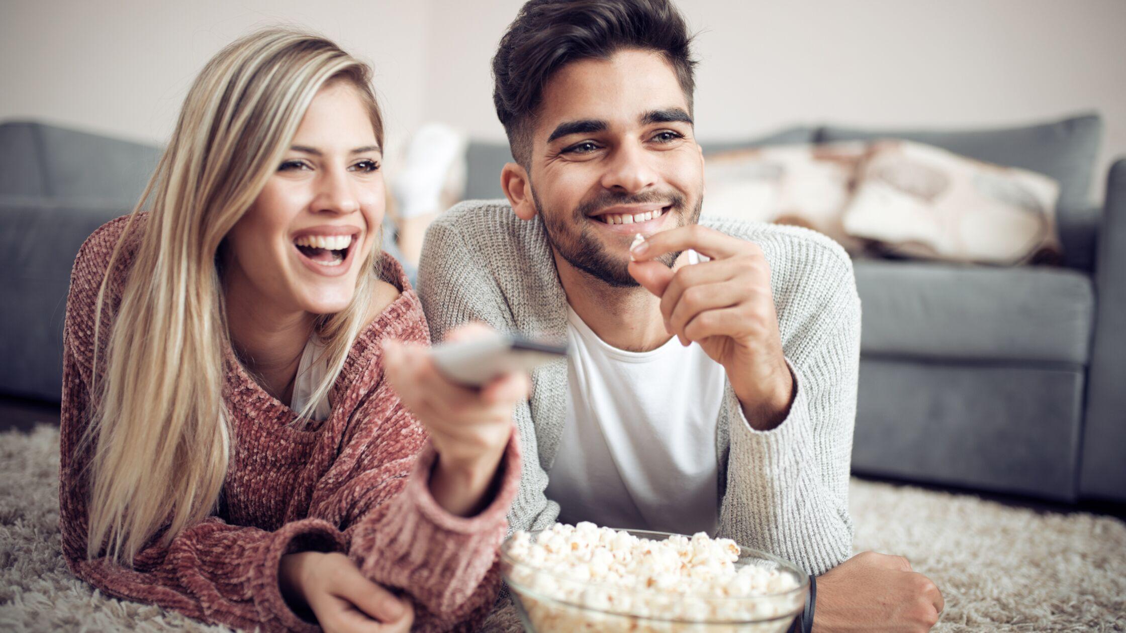 Paar streamt schneller nach Wechsel des Kabelanbieters