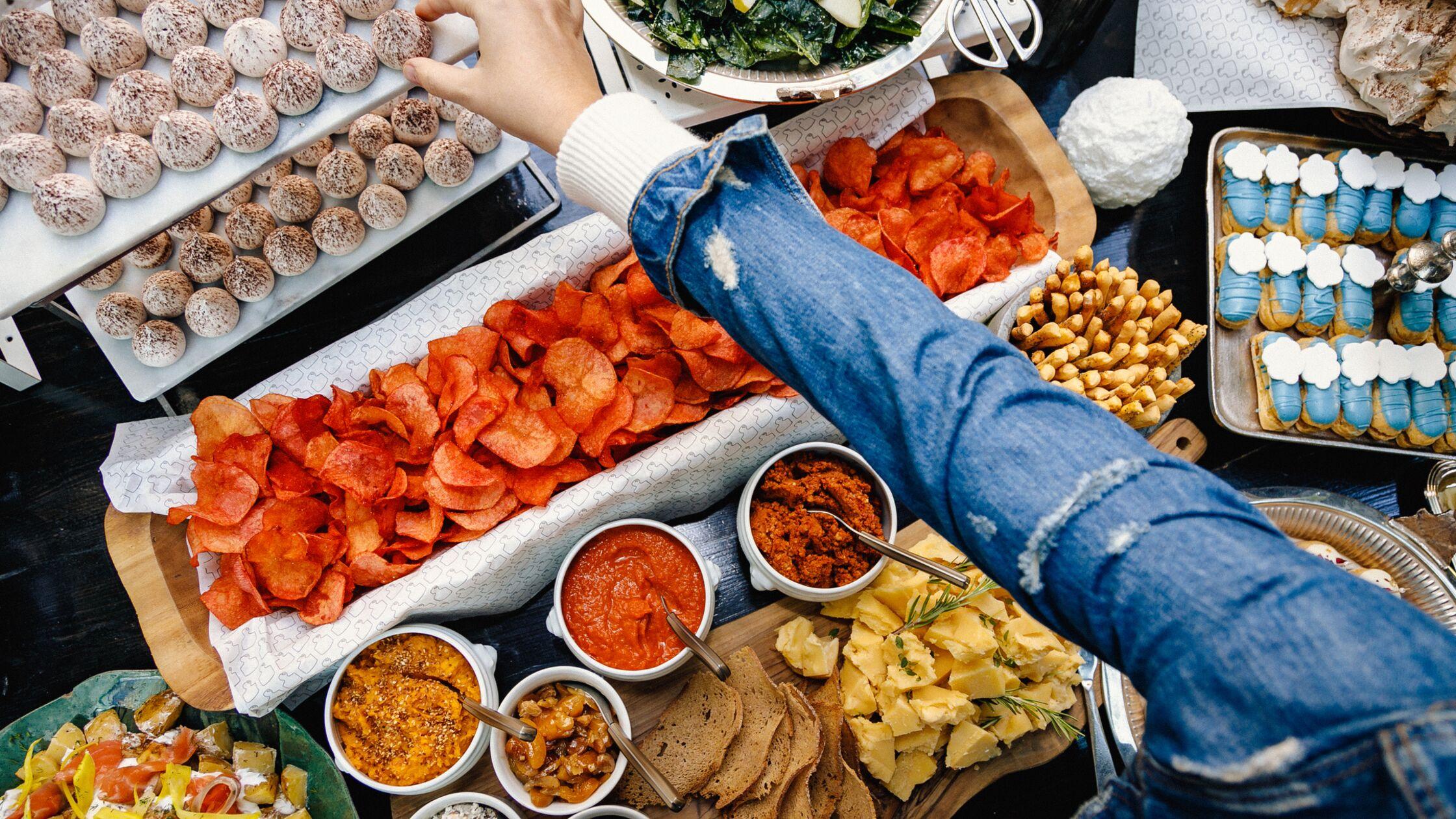 Fingerfood als Essen für Einweihungsparty