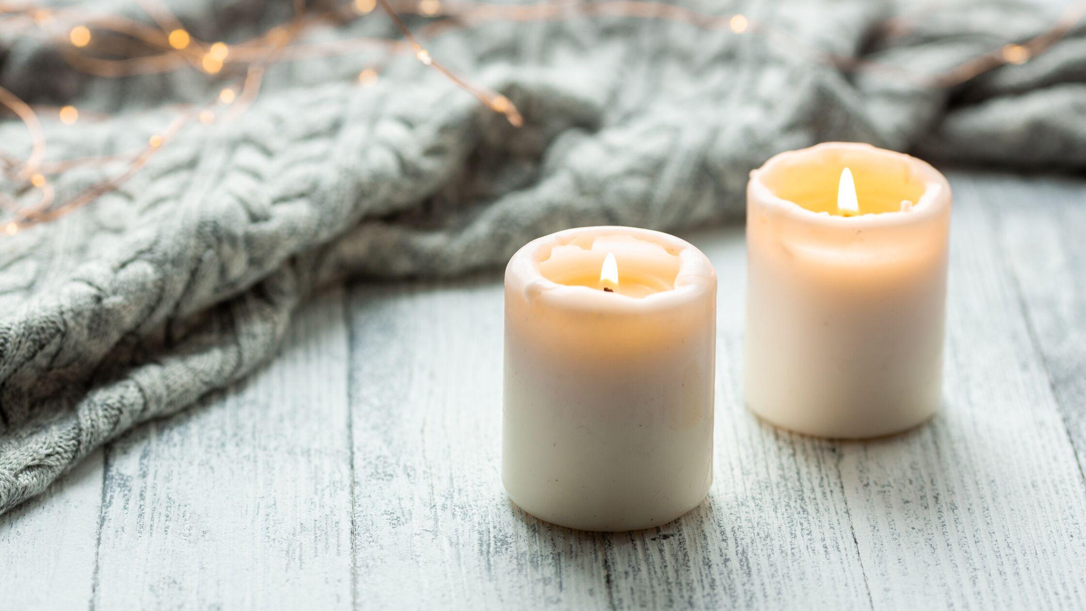 Hygge mit Kerzen