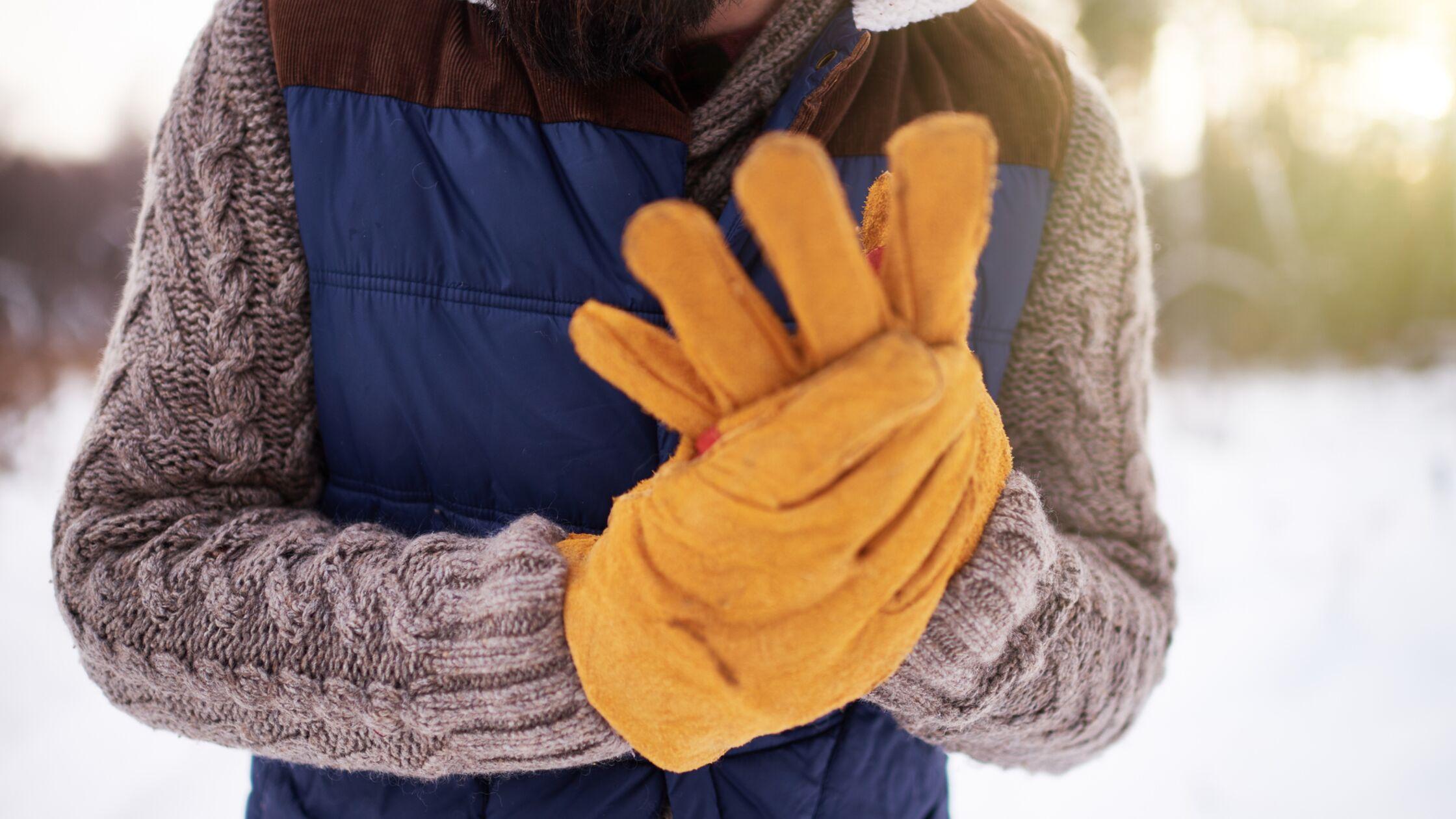 handschuhe bei umzug im winter