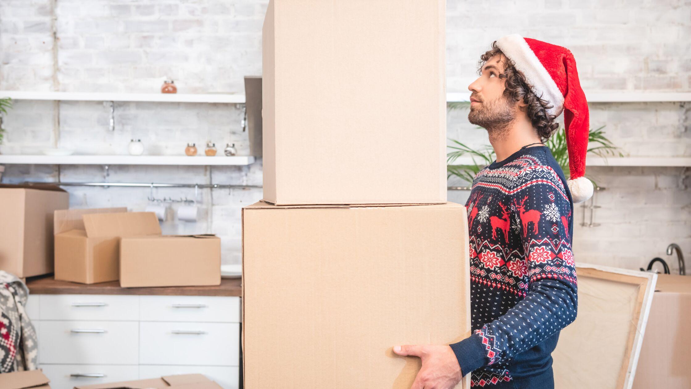 Umzug vor Weihnachten: 5 Tipps für mehr Festtagslaune
