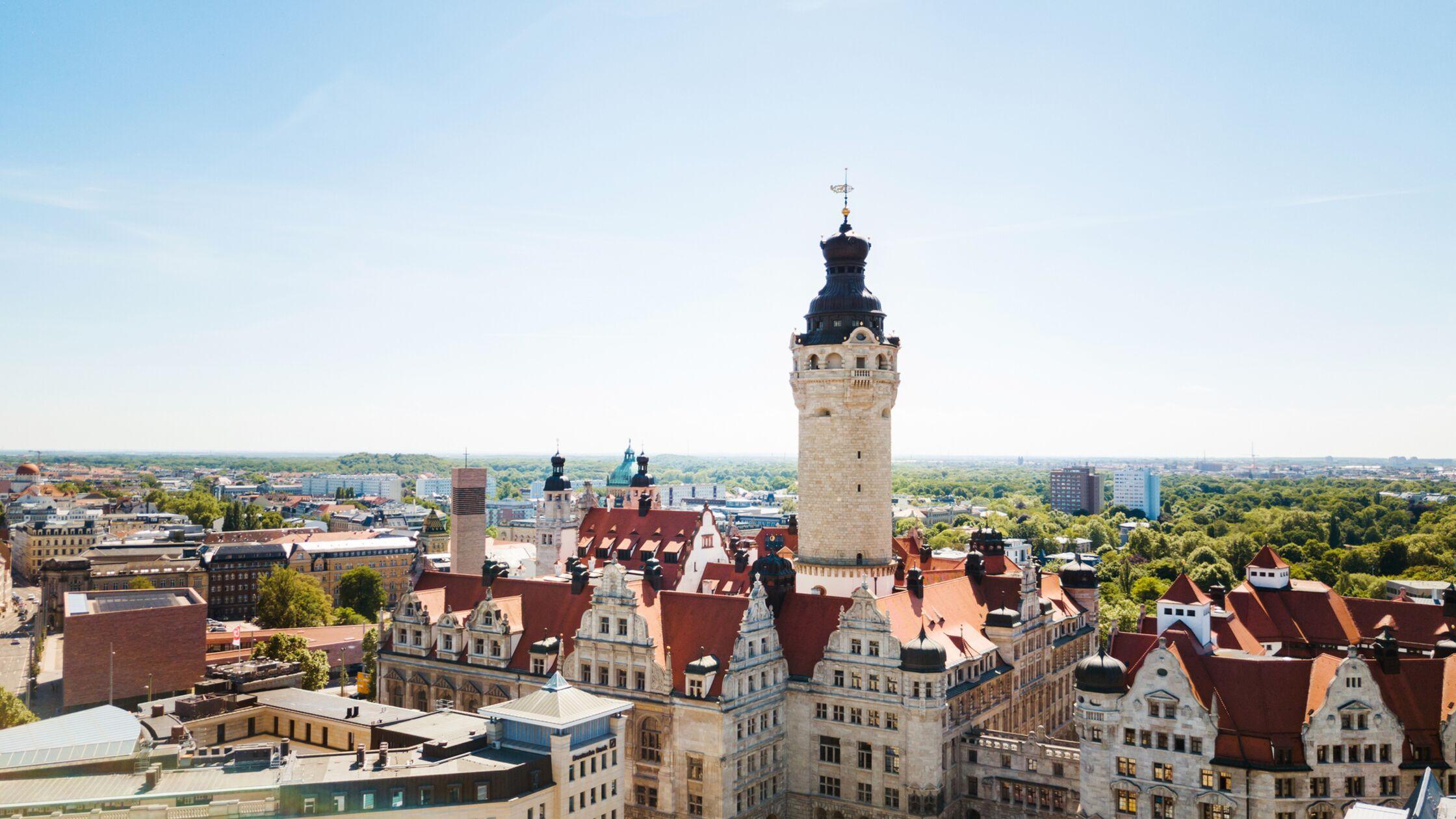 Leipzig Rathaus