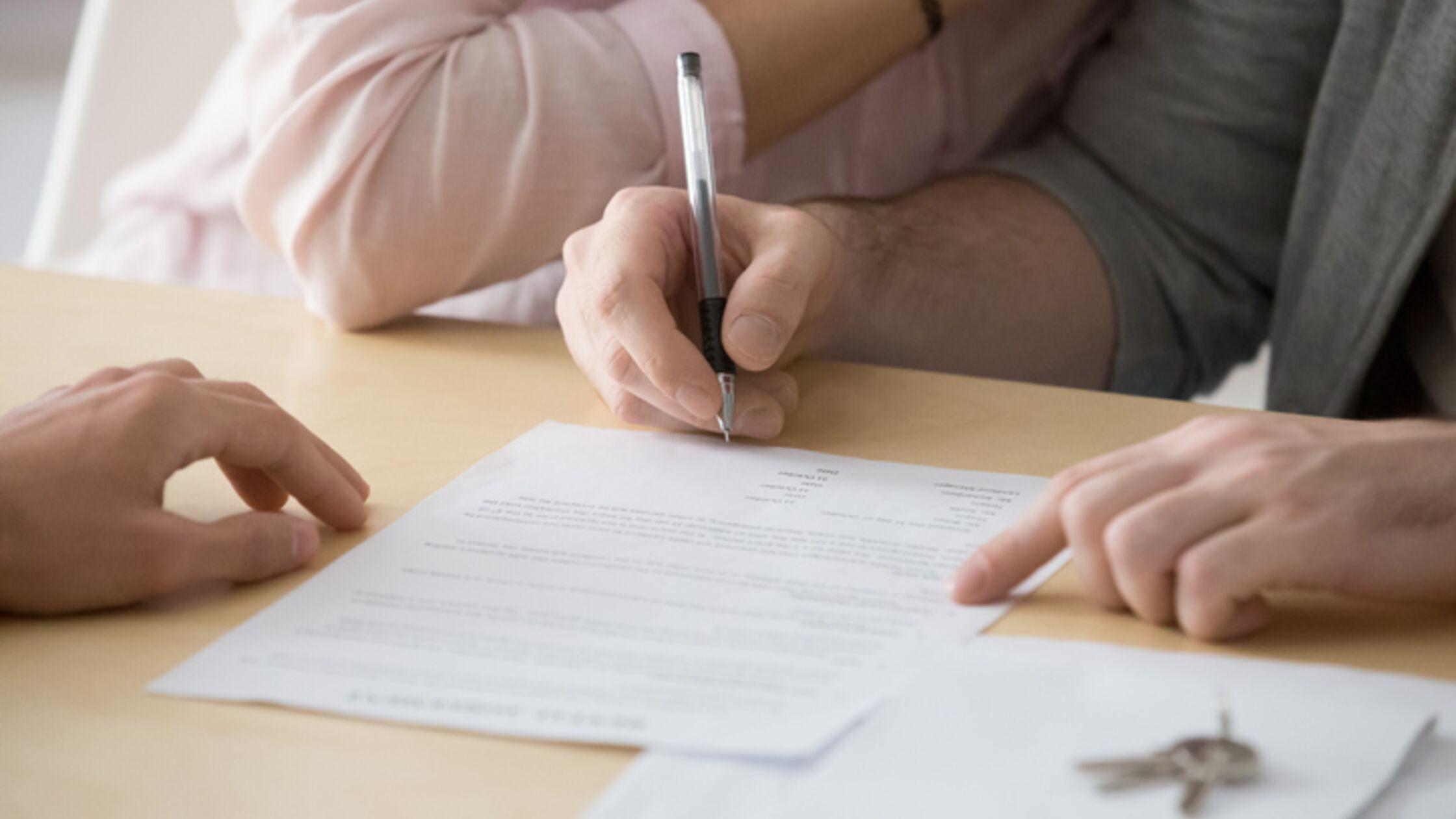 Mietvertrag für Wohnung zur Untermiete