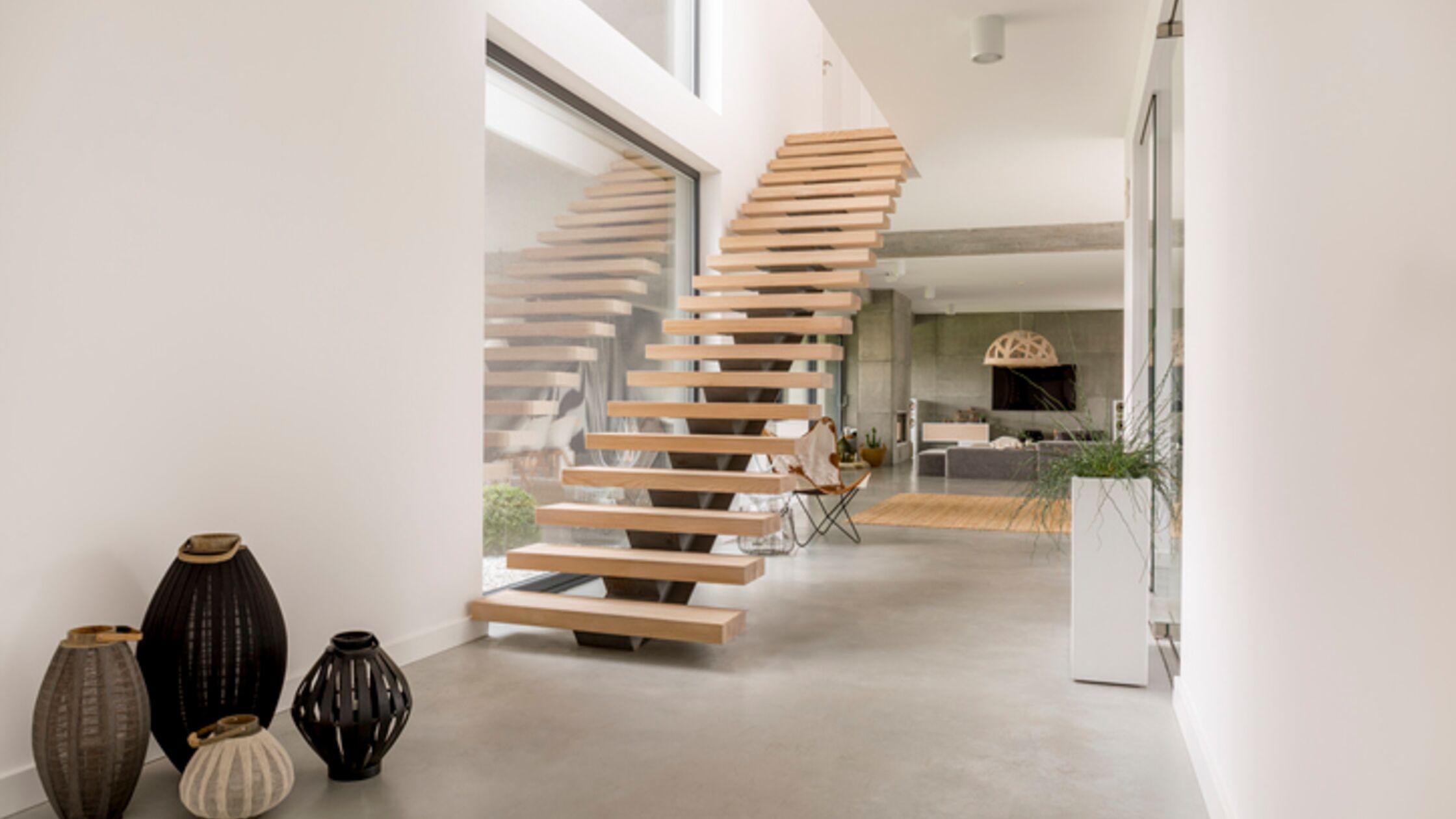 Maisonette-Wohnung mit Treppe
