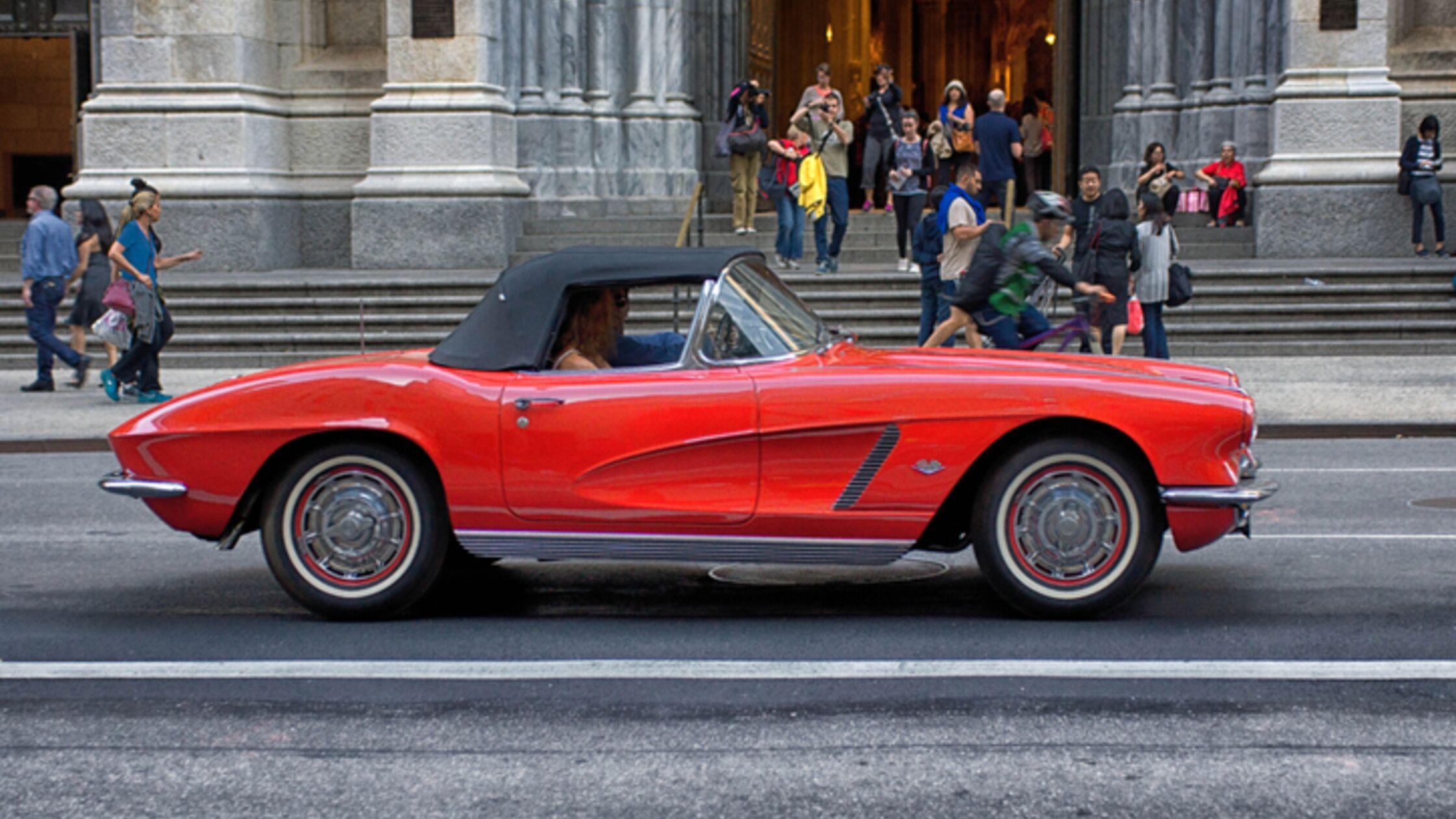 Rote Chevrolet Corvette Stingray