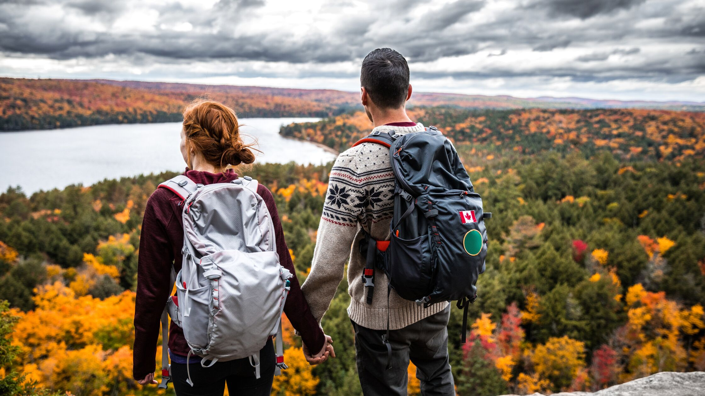 Paar in Kanada