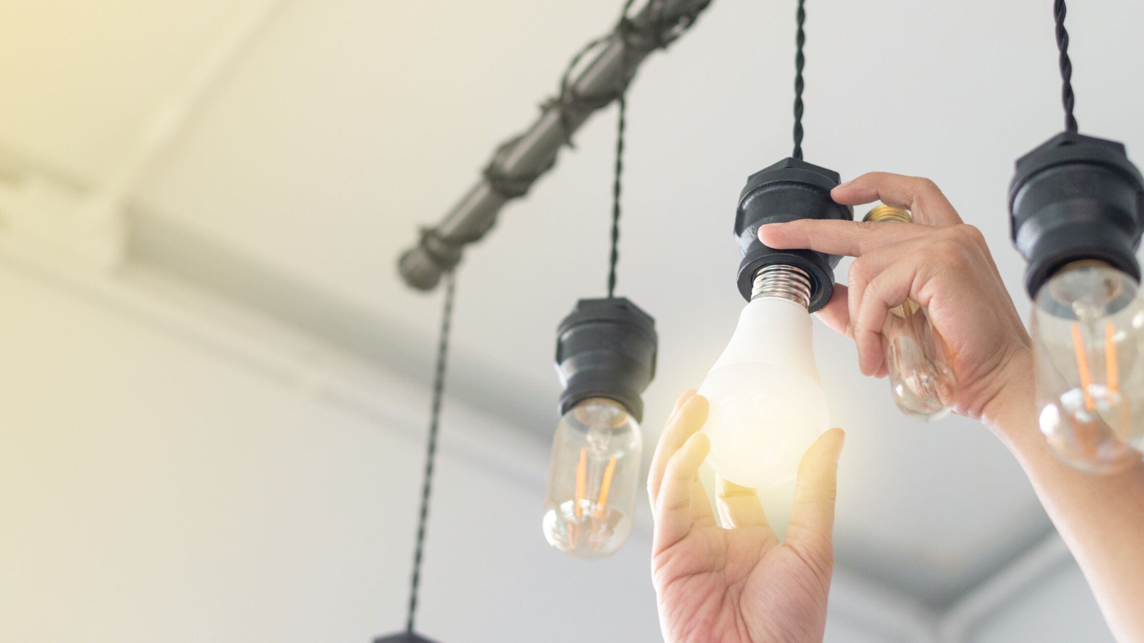 Lampen anbringen