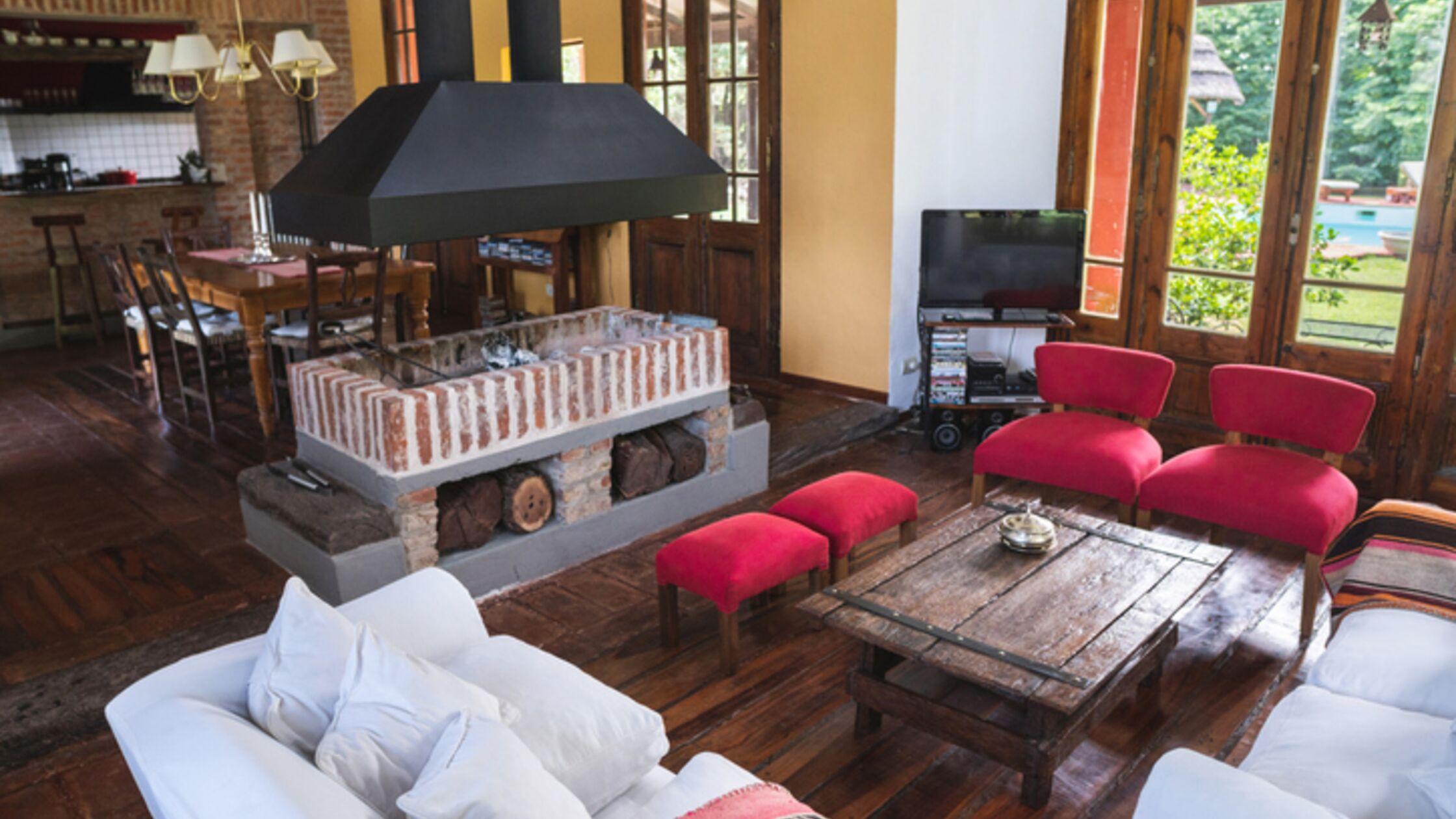 Wohnzimmer im Landhausstil