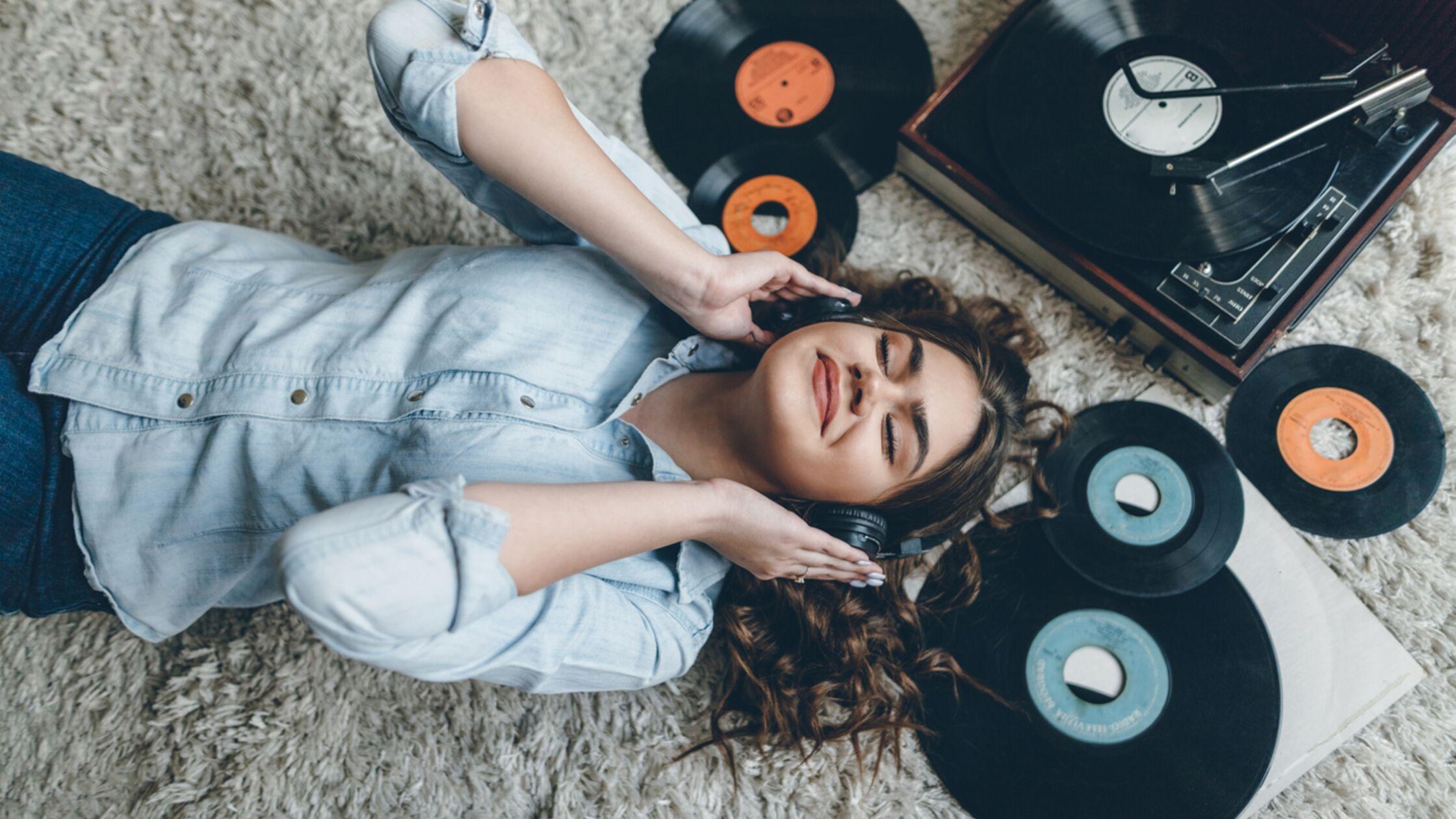 Schallplatten Aufbewahrung