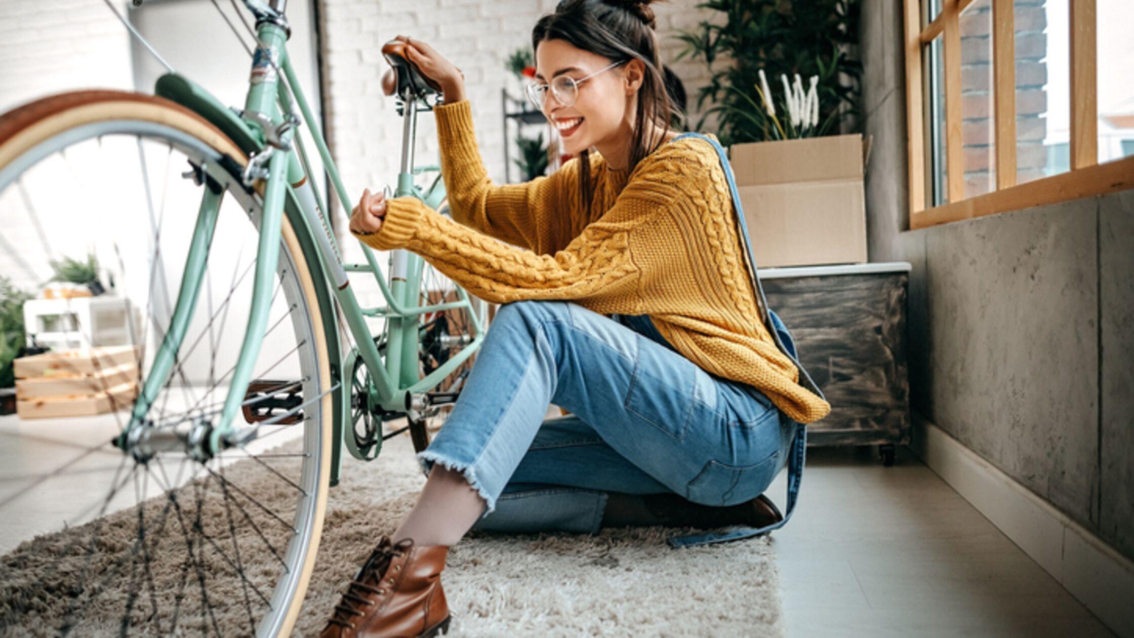 Fahrrad richtig transportieren: So klappt der Umzug