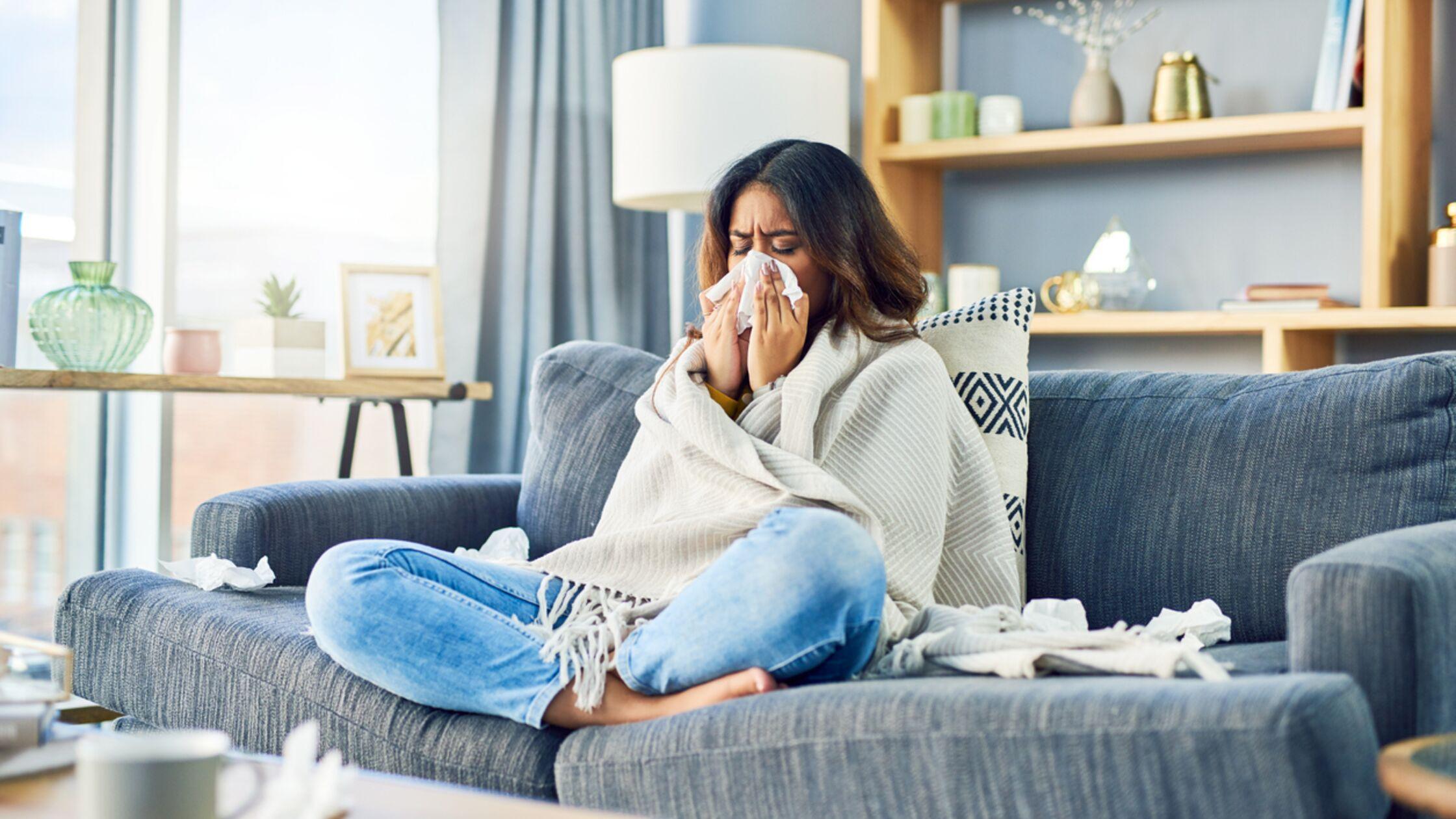 Plötzliche Allergie in der neuen Wohnung