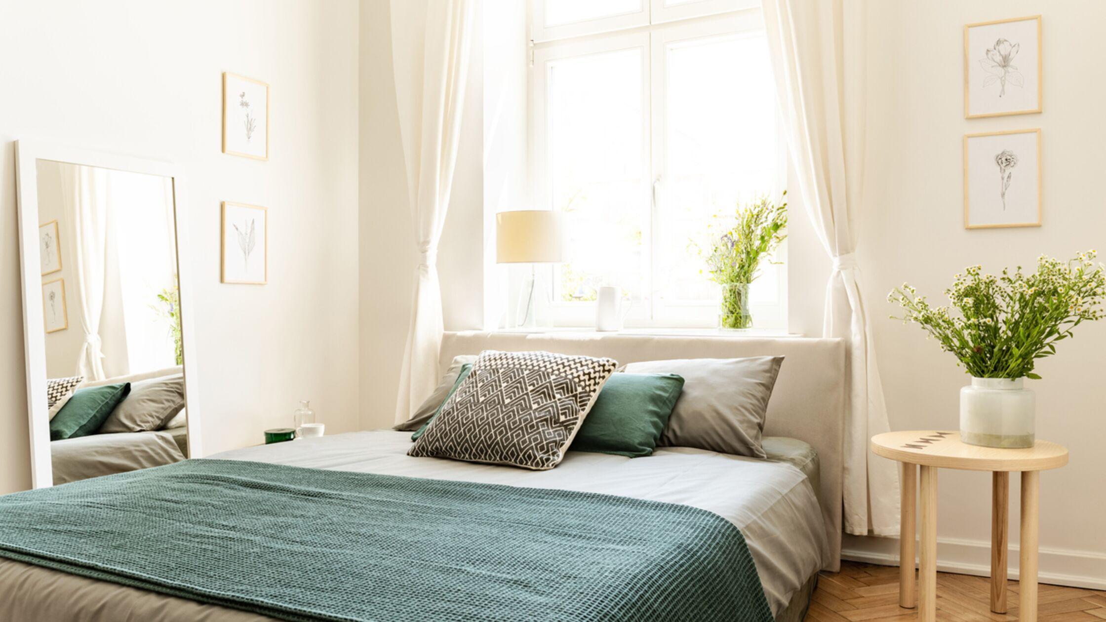 Kleines Schlafzimmer? So wird es zur Wohlfühloase
