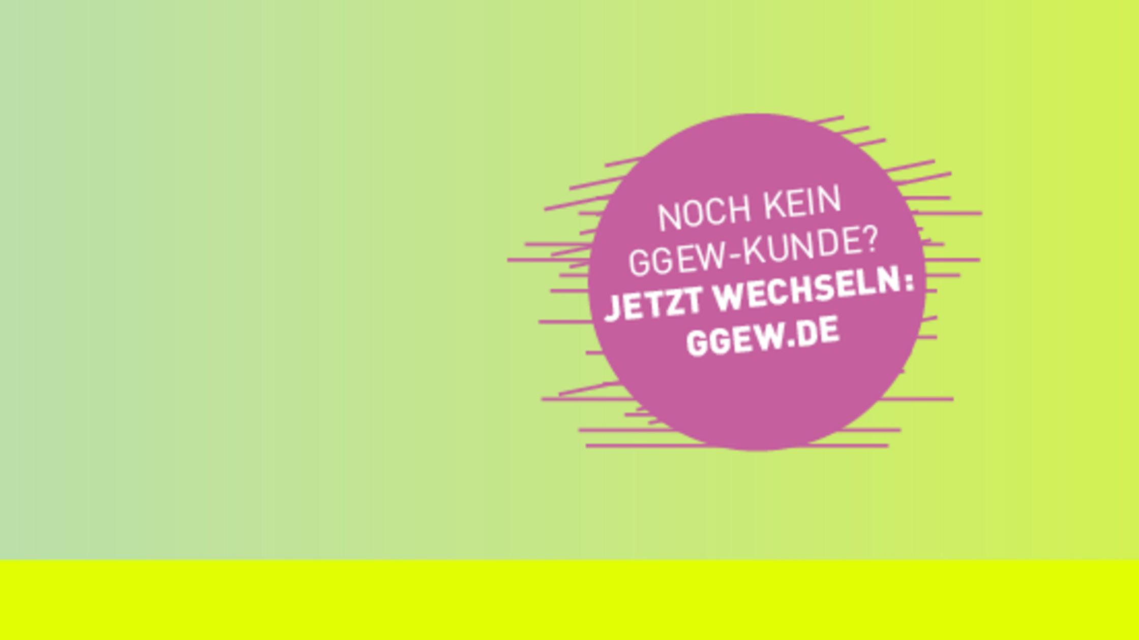 Schriftzug auf grünem Hintergrund