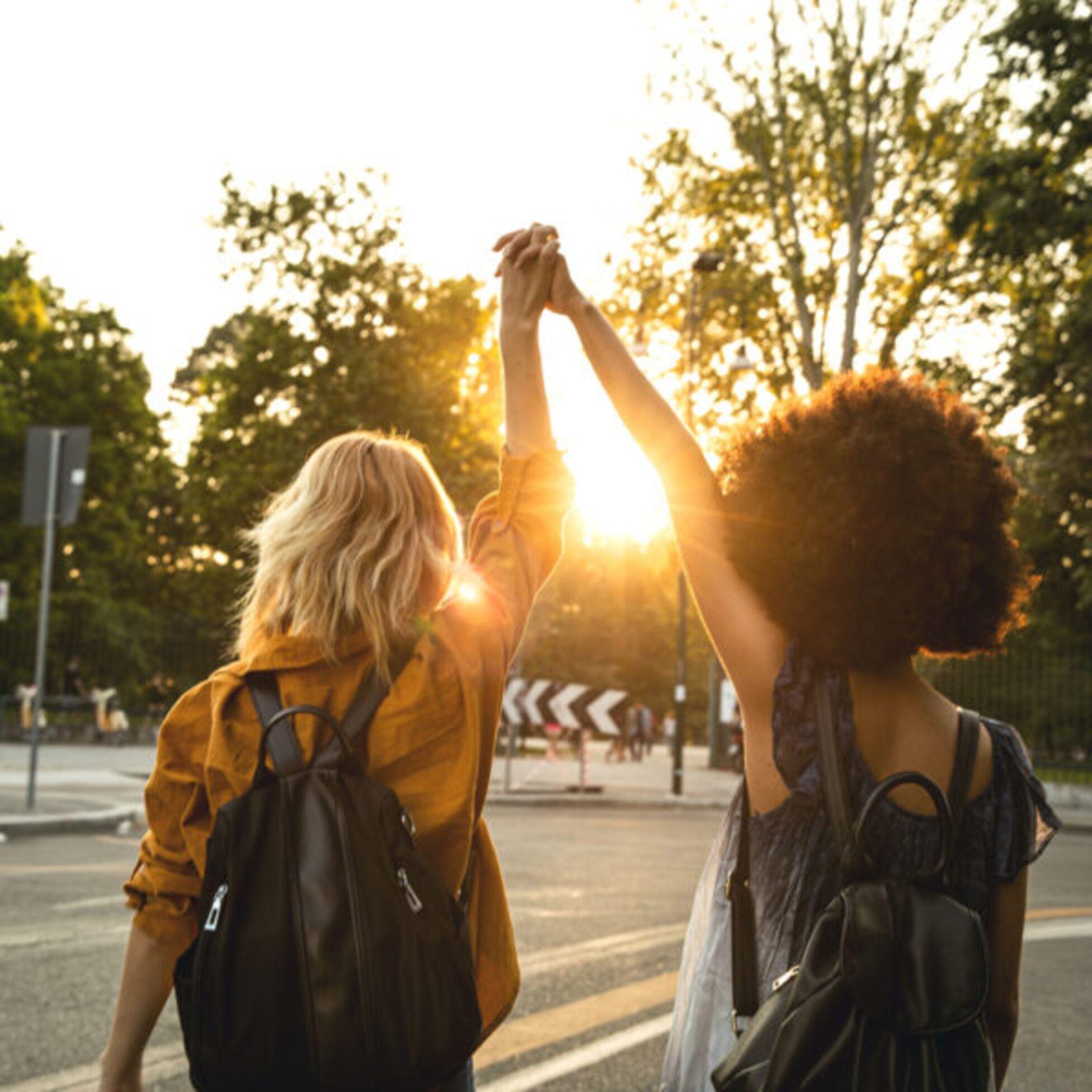 Freundschaft nach dem Umzug