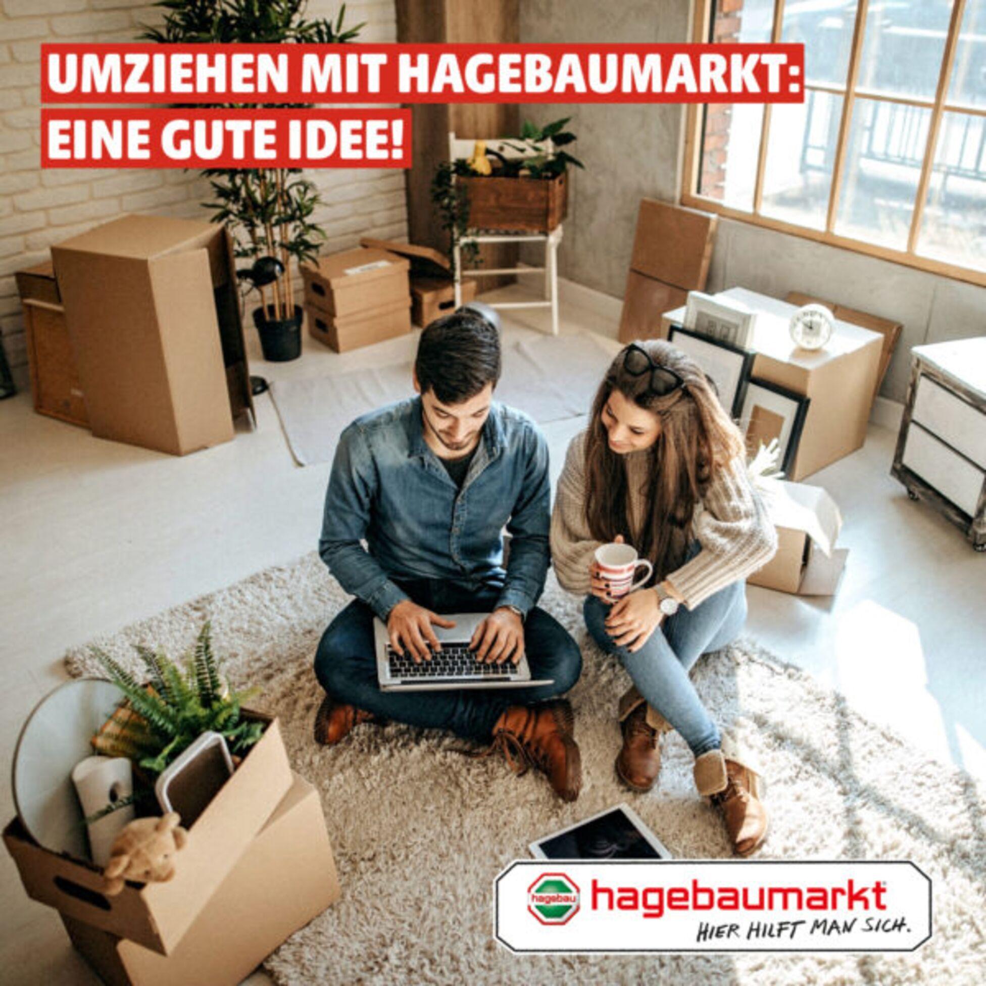 """hagebau – """"Hier hilft man sich"""""""