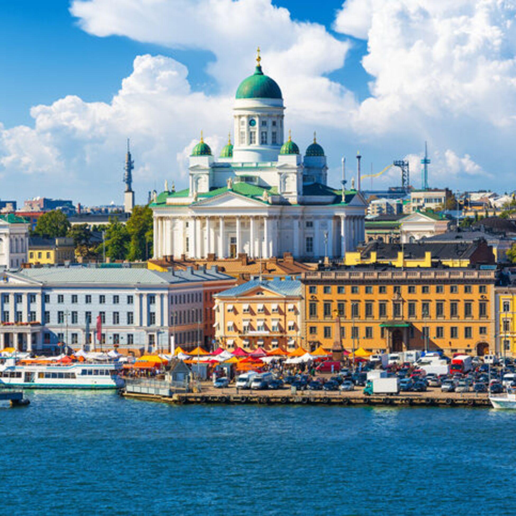 Helsinki ist ein beliebtes Ziel für Auswanderer in Finnland