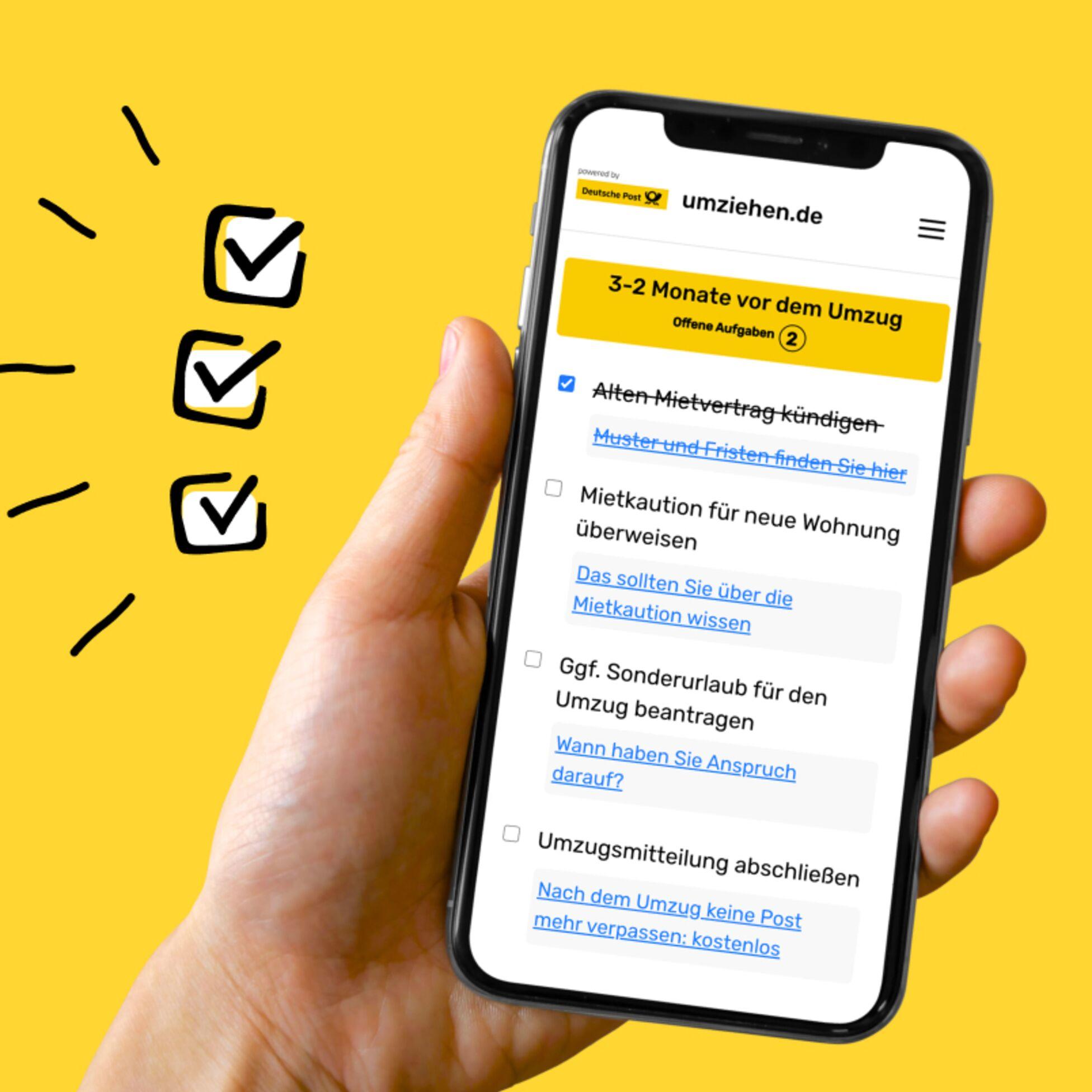 Smarte Umzugshelfer: Ihre kostenlosen Umzugs-Checklisten